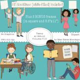 Teens at School Volume 8 - Secondary Teen Clipart