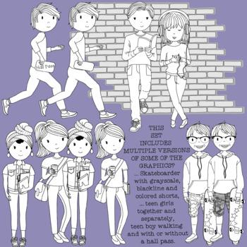 Teens at School Volume 9 -  Hallway Happenings