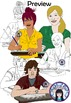 Teen and Teenagers Clip Art Set 3