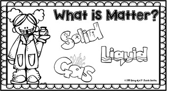 Teensy Tabs: What Is Matter Booklet