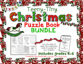 Teeny-Tiny Christmas Puzzle Books BUNDLE
