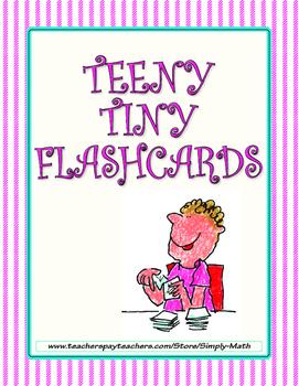 Teeny Tiny Flashcards