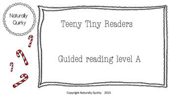 Teeny Tiny HOLIDAY reader GR level A
