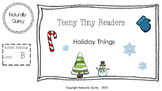 Teeny Tiny HOLIDAY reader GR level B