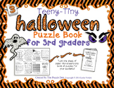 Teeny-Tiny Halloween Puzzle Book for Third Graders