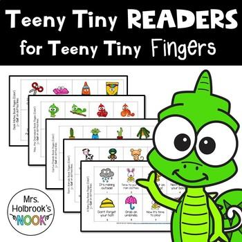 Teeny Tiny Readers for Teeny Tiny Fingers (Mini-Books)