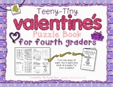 Teeny-Tiny Valentine's Puzzle Book for Fourth Graders