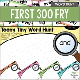 Fry Sight Word Activity - Literacy Center - Word Search Hunt - 1st 300 Fry