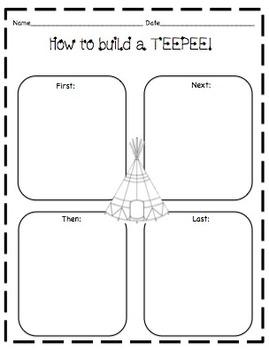Teepee Craft & Printables