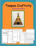 Teepee Craft & Printables