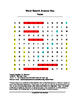 Teepee Word Search (Grades 3-5)