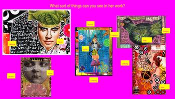 Teesha Moore Collage Artist Presentation