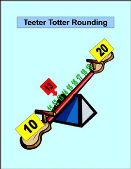 Teeter Totter Rounding for Elementary Math