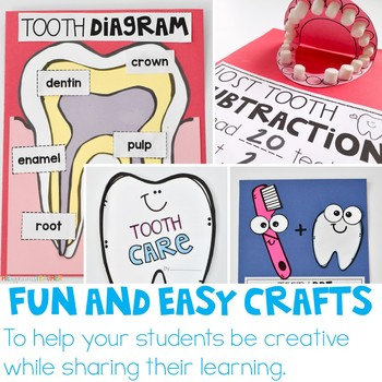 Teeth Activities Dental Health Unit