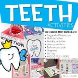 Teeth Activities Dental Health Unit