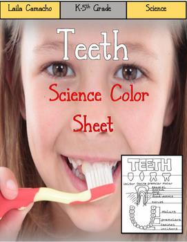 Teeth Color Sheet
