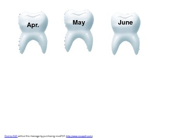Teeth Lost in Second Grade Graph