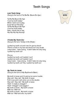 Teeth Songs!