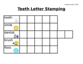 Teeth Words Letter Stamping
