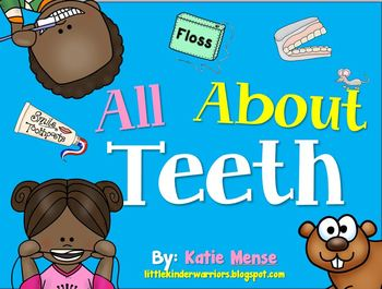 Teeth and Dental Health Math and Literacy Unit