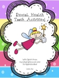 Teeth and Dental Health Vocabulary and Writing Activities