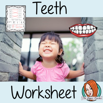 Teeth and Oral Hygiene Worksheets