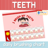 Teeth brushing chart