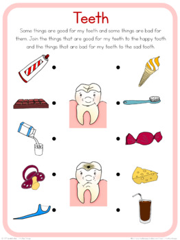 Teeth circle time questions