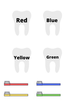 Teeth colors