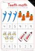 Teeth math worksheets