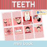 Teeth mini book