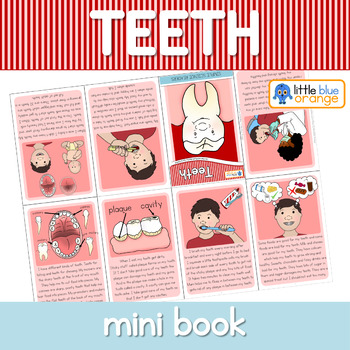 Teeth mini book