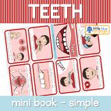 Teeth mini book (simplified version)