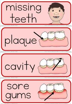 Teeth word wall