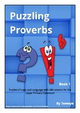 Teewye's Puzzling Proverbs Book 1