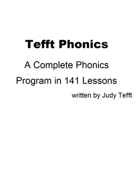 Tefft Complete Phonics for OpenOffice