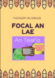 Teilifís- 20 Page vocabulary booklet (Junior Classes)