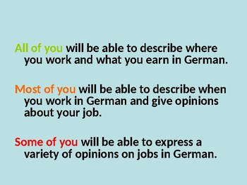 Teilzeitjobs / Jobben / Part time jobs