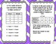 Teks 4.3(b) Input Output Tables, Sequences 20 TASK CARDS