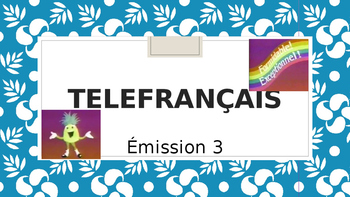 Telefrancais episode 3: activities and vocabulary