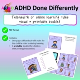 Telehealth / Online Learning Visual rules and booklet
