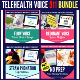 Telehealth Voice Therapy 911 Bundle Speech Therapy