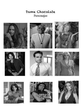 Telenovela: Personajes Importantes E1-E4 Dame Chocolate