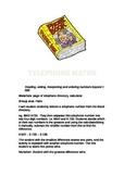 Telephone Book Maths