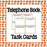Telephone Book Task Cards