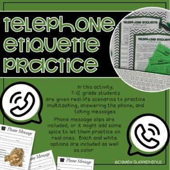 Telephone Etiquette Listening Reading Multitasking