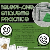 Phone Etiquette - Listening, Reading & Business Skills