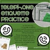 Telephone Etiquette - Life Skills