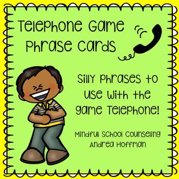 Social Skills ~ Gossip, Rumors, Active Listening ~ Telephone Game Phrases