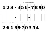 Telephone Number Practice